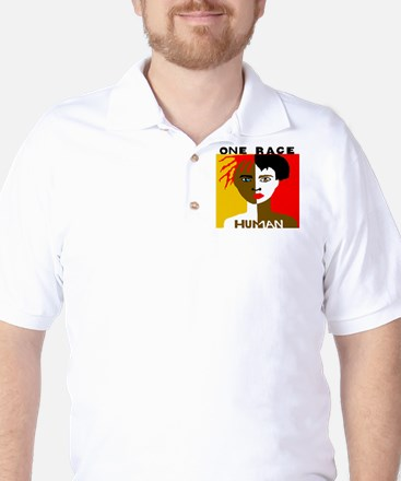 Anti-Racism Golf Shirt
