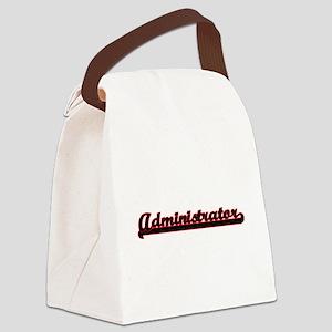 Administrator Classic Job Design Canvas Lunch Bag