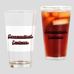 Aeronautical Engineer Classic Job D Drinking Glass