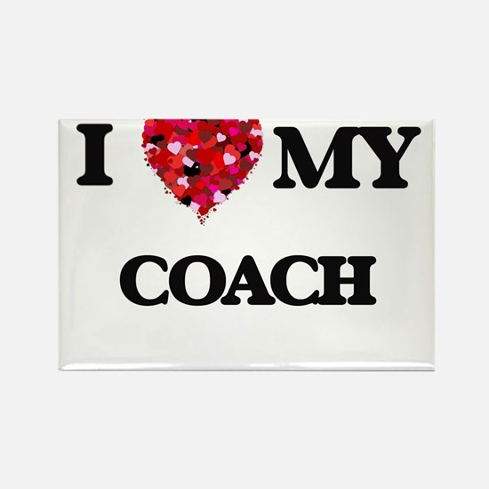 I love my Coach hearts design Magnets