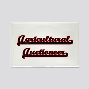 Agricultural Auctioneer Classic Job Design Magnets