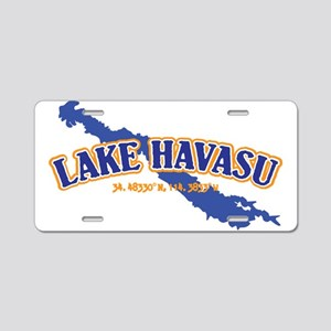 Lake Havasu Aluminum License Plate