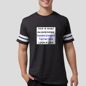 loving dandie dinmont terrier Mens Football Shirt