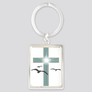 Glowing Cross 1 Keychains