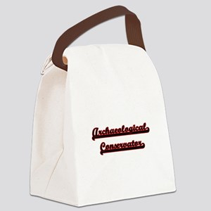 Archaeological Conservator Classi Canvas Lunch Bag