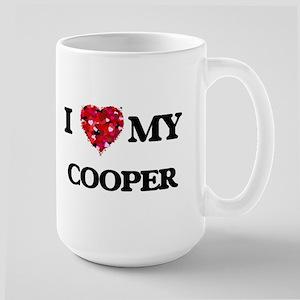 I love my Cooper hearts design Mugs