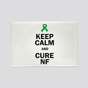 Keep Calm And Cure Nf Magnets