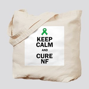 Keep Calm and Cure NF Tote Bag