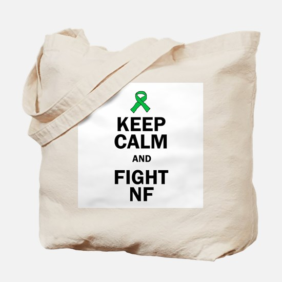 Keep Calm and Fight NF Tote Bag