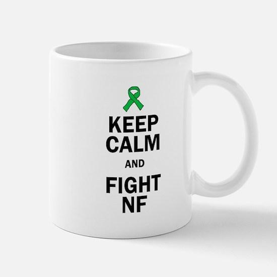 Keep Calm and Fight NF Mugs
