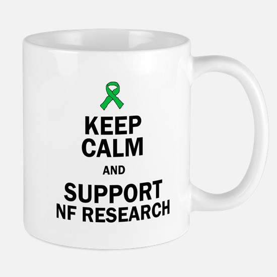 Keep Calm and Support NF Research Mugs