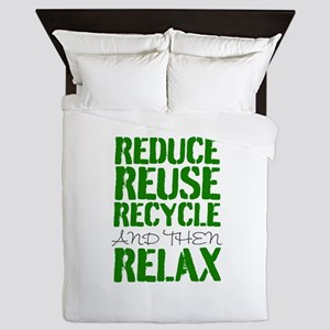 Recycle Queen Duvet