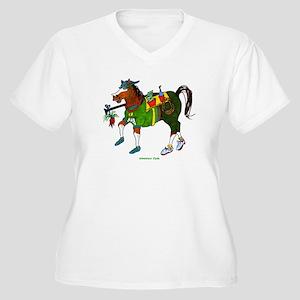 Adventure Clyde Women's Plus Size V-Neck T-Shirt