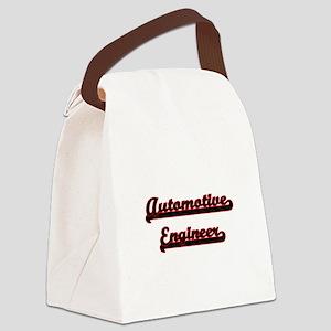 Automotive Engineer Classic Job D Canvas Lunch Bag
