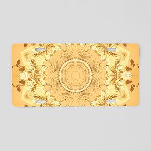 Kaleidoskop Aluminum License Plate