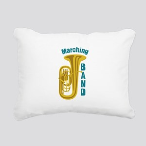 Marching Band Rectangular Canvas Pillow