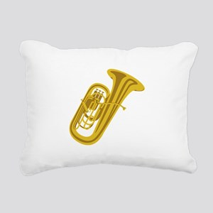 Tuba Rectangular Canvas Pillow
