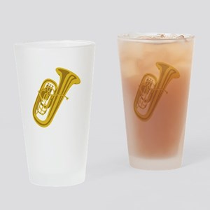 Tuba Drinking Glass