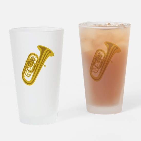 Tuba Drinking Glass