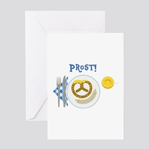 Prost Greeting Cards