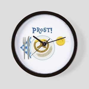 Prost Wall Clock