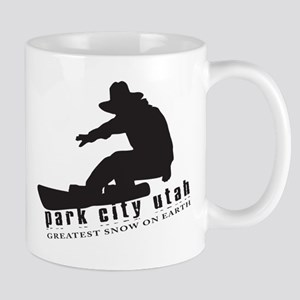 Park City Snowboarding Mug