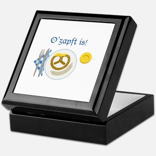 Ozapft Is! Keepsake Box