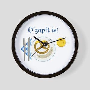 Ozapft Is! Wall Clock