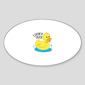Lucky Duck Sticker