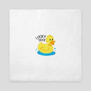Lucky Duck Queen Duvet