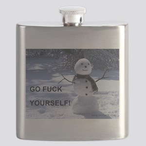 Snowman GFY Flask