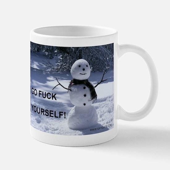 Snowman GFY Mugs
