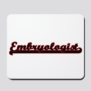 Embryologist Classic Job Design Mousepad