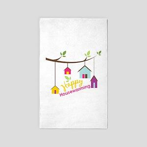 Happy Housewarming Area Rug