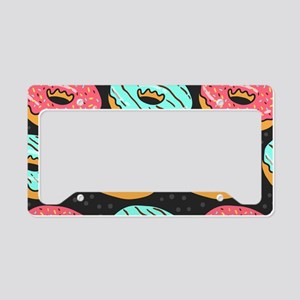 Donuts License Plate Holder