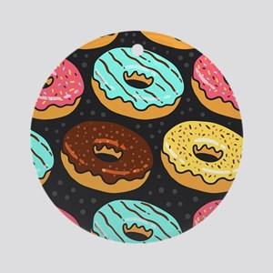 Donuts Ornament (Round)