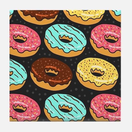 Donuts Tile Coaster