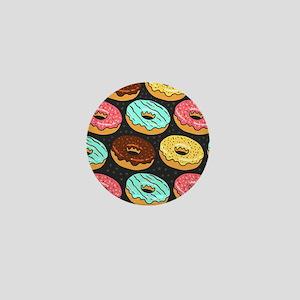 Donuts Mini Button
