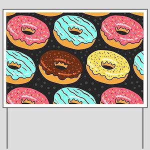 Donuts Yard Sign