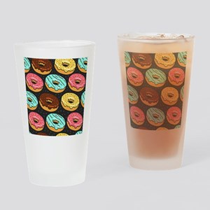 Donuts Drinking Glass