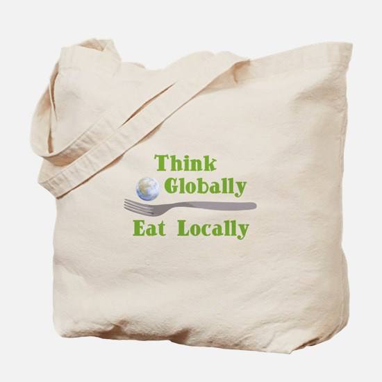 Eat Locally Tote Bag