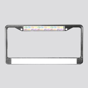 bicycles License Plate Frame