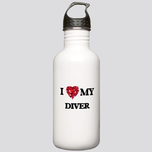 I love my Diver hearts Stainless Water Bottle 1.0L