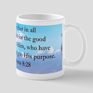 ROMANS 8:28 Mug