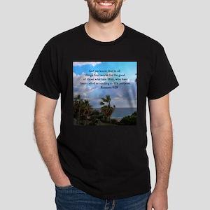 ROMANS 8:28 Dark T-Shirt