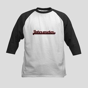 Interpreter Classic Job Design Baseball Jersey