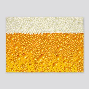 Draught Beer 5'x7'Area Rug