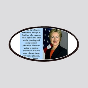 hillary clinton quote Patch