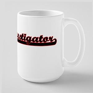 Investigator Classic Job Design Mugs