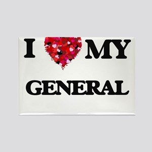 I love my General hearts design Magnets